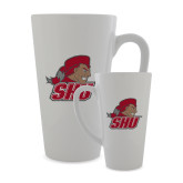 Full Color Latte Mug 17oz-Secondary Logo