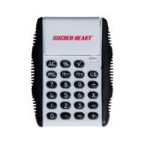 White Flip Cover Calculator-Sacred Heart