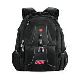 Wenger Swiss Army Mega Black Compu Backpack-Primary Logo