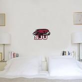 1 ft x 1 ft Fan WallSkinz-Hawk Head w/ SJU