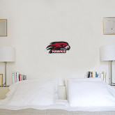 1 ft x 2 ft Fan WallSkinz-Hawk Head w/ Hawks