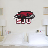 2 ft x 2 ft Fan WallSkinz-Hawk Head w/ SJU