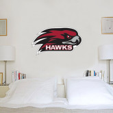 1.5 ft x 3 ft Fan WallSkinz-Hawk Head w/ Hawks
