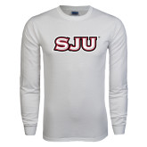 White Long Sleeve T Shirt-SJU