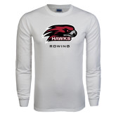 White Long Sleeve T Shirt-Rowing