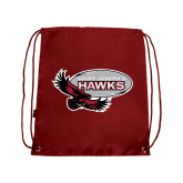 Cardinal Drawstring Backpack-Primary Mark