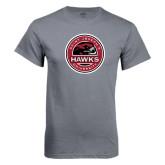 Charcoal T Shirt-Saint Josephs University Circle