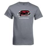 Charcoal T Shirt-Lacrosse
