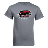 Charcoal T Shirt-Rugby