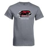 Charcoal T Shirt-Rowing