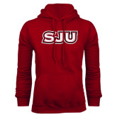 Cardinal Fleece Hood-SJU