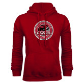 Cardinal Fleece Hood-Saint Josephs University Circle