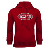 Cardinal Fleece Hood-Saint Josephs Hawks