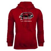 Cardinal Fleece Hoodie-Lacrosse