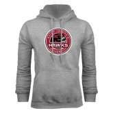 Grey Fleece Hood-Saint Josephs University Circle