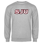 Grey Fleece Crew-SJU
