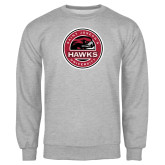 Grey Fleece Crew-Saint Josephs University Circle