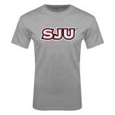 Grey T Shirt-SJU