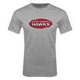 Grey T Shirt-Saint Josephs Hawks