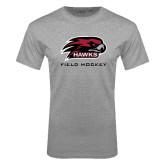 Grey T Shirt-Field Hockey