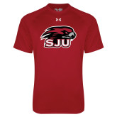 Under Armour Cardinal Tech Tee-Hawk Head w/ SUJ