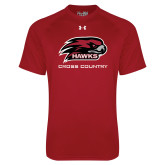 Under Armour Cardinal Tech Tee-Cross Country