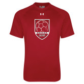 Under Armour Cardinal Tech Tee-Soccer Shield Design