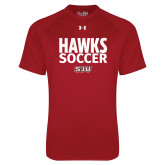 Under Armour Cardinal Tech Tee-Hawks Soccer Stacked