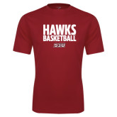 Syntrel Performance Cardinal Tee-Hawks Basketball Stacked