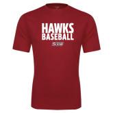 Performance Cardinal Tee-Hawks Baseball Stacked
