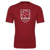 Performance Cardinal Tee-Soccer Shield Design