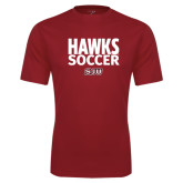 Syntrel Performance Cardinal Tee-Hawks Soccer Stacked