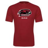 Performance Cardinal Tee-Dad
