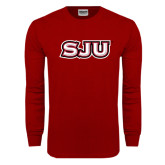 Cardinal Long Sleeve T Shirt-SJU