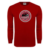 Cardinal Long Sleeve T Shirt-Saint Josephs University Circle