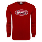 Cardinal Long Sleeve T Shirt-Saint Josephs Hawks