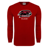 Cardinal Long Sleeve T Shirt-Rugby