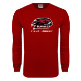 Cardinal Long Sleeve T Shirt-Field Hockey