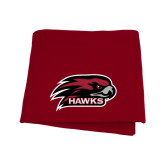 Cardinal Sweatshirt Blanket-Hawk Head w/ Hawks