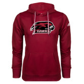 Adidas Climawarm Cardinal Team Issue Hoodie-Hawk Head w/ Hawks