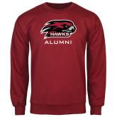 Cardinal Fleece Crew-Alumni