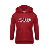 Youth Cardinal Fleece Hoodie-SJU