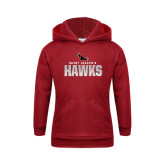Youth Cardinal Fleece Hoodie-Saint Josephs Hawks Splash