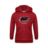 Youth Cardinal Fleece Hoodie-Rugby