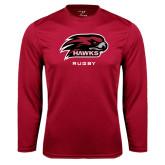 Performance Cardinal Longsleeve Shirt-Rugby