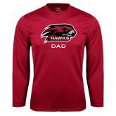 Syntrel Performance Cardinal Longsleeve Shirt-Dad