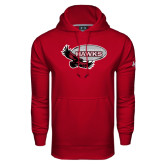 Under Armour Cardinal Performance Sweats Team Hoodie-Primary Mark