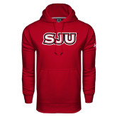 Under Armour Cardinal Performance Sweats Team Hoodie-SJU