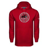 Under Armour Cardinal Performance Sweats Team Hoodie-Saint Josephs University Circle
