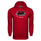 Under Armour Cardinal Performance Sweats Team Hoodie-Dad